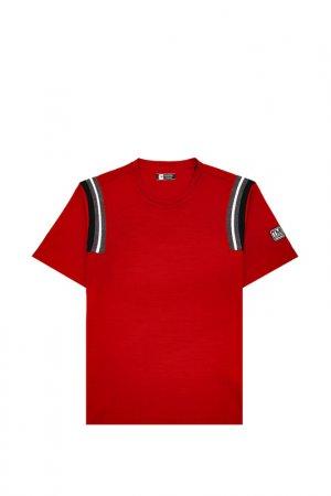 Футболка Z Zegna. Цвет: красный