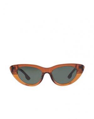 Солнечные очки KOMONO. Цвет: верблюжий