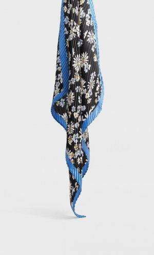 Бандана С Принтом «Ромашки» Женская Коллекция Черный 103 Stradivarius. Цвет: черный