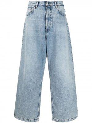 Широкие джинсы Acne Studios. Цвет: синий