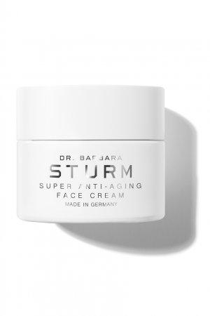 Антивозрастной увлажняющий крем для лица Super Anti-Aging Face Cream, 50ml Dr. Barbara Sturm. Цвет: белый