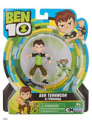 Ben 10 Фигурка 12.5 см, Бен и гуманоид. Цвет: зеленый