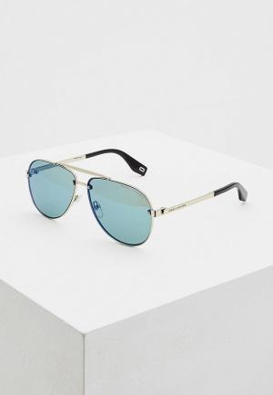 Очки солнцезащитные Marc Jacobs 317/S 3YG. Цвет: серебряный