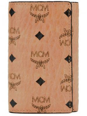 Ключница с монограммой MCM. Цвет: коричневый