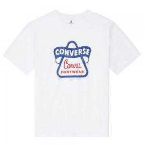 Vintage Logo Ss Tee Converse. Цвет: белый