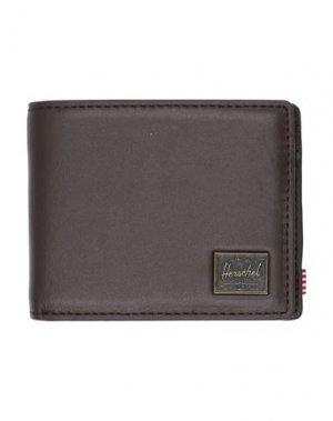 Бумажник HERSCHEL SUPPLY CO.. Цвет: темно-коричневый