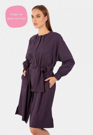 Платье Энсо. Цвет: фиолетовый