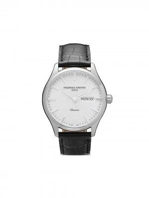 Наручные часы Classics Quartz 40 мм Frédérique Constant. Цвет: белый