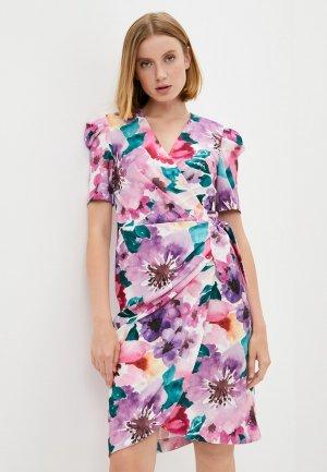 Платье Alessandro DellAcqua Dell'Acqua. Цвет: разноцветный