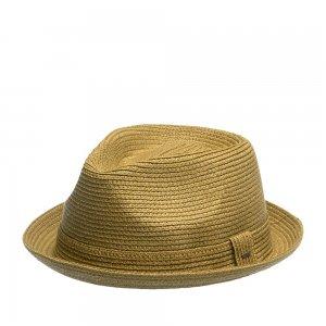 Шляпа хомбург BAILEY. Цвет: коричневый