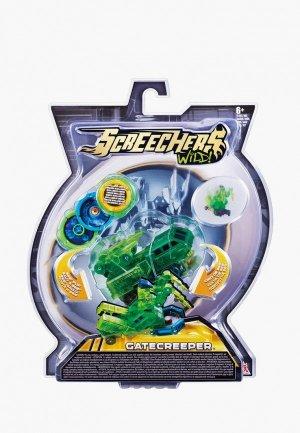 Игрушка Росмэн Дикие Скричеры. Машинка-трансформер Гейткрипер л2 ТМ Screechers Wild. Цвет: зеленый