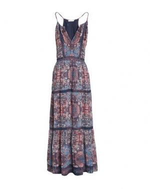 Длинное платье JOIE. Цвет: синий