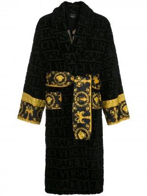 Халат I ♡ Baroque Versace Home. Цвет: черный
