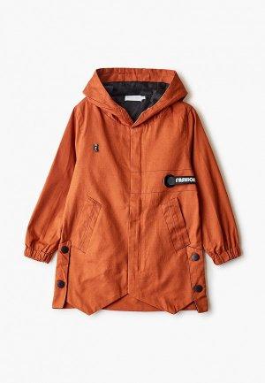 Куртка Moon River. Цвет: оранжевый