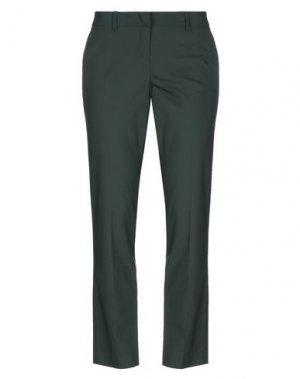 Повседневные брюки HANITA. Цвет: темно-зеленый