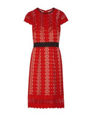 Платье до колена CATHERINE DEANE. Цвет: красный