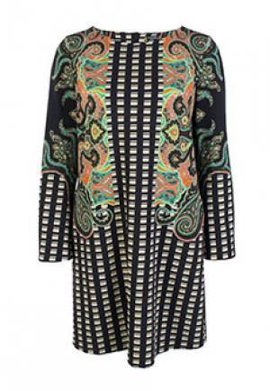 Платье ETRO. Цвет: черный