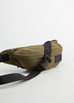 Напоясная сумка из нейлона - Beltbag2 Mango. Цвет: хаки