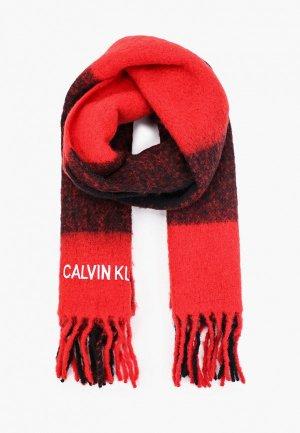 Шарф Calvin Klein Jeans. Цвет: разноцветный