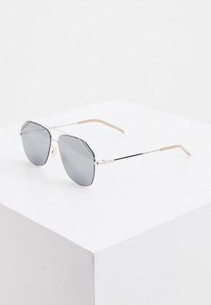 Очки солнцезащитные Fendi FF M0043/S 010. Цвет: серебряный