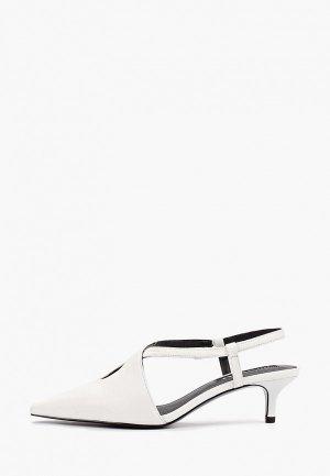Туфли Mango - BEL. Цвет: белый