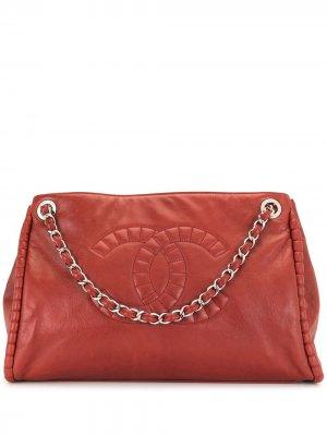 Сумка-тоут On Bund Chanel Pre-Owned. Цвет: красный