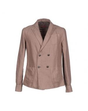 Пиджак LUCHINO. Цвет: голубиный серый