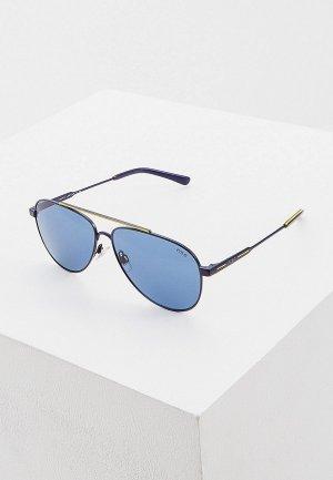 Очки солнцезащитные Polo Ralph Lauren 0PH3126 939480. Цвет: синий