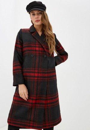 Пальто UNQ. Цвет: черный