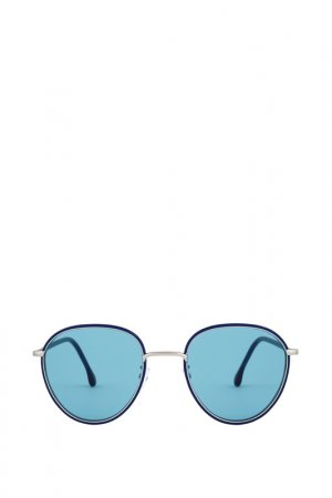 Солнцезащитные очки Paul Smith. Цвет: синий