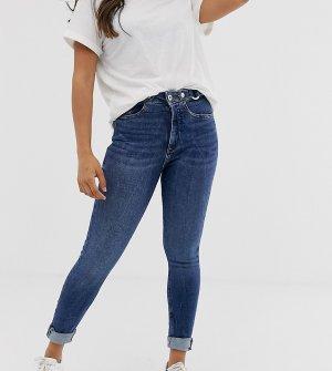 Рваные джинсы скинни -Синий River Island Petite