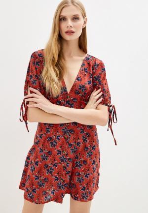 Платье Brave Soul. Цвет: красный