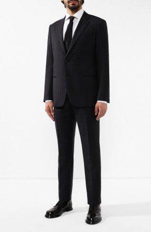 Шерстяной костюм Giorgio Armani. Цвет: серый