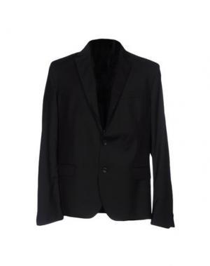 Пиджак LOW BRAND. Цвет: черный