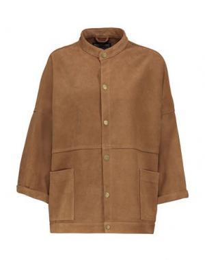 Легкое пальто CURRENT/ELLIOTT. Цвет: коричневый