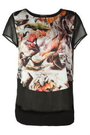 Блуза Apart. Цвет: черный