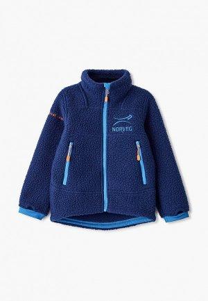 Олимпийка Norveg Warmer. Цвет: синий
