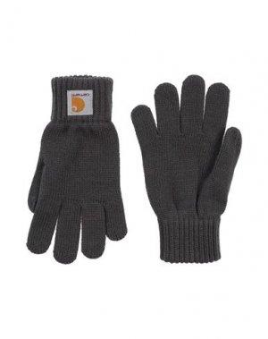 Перчатки CARHARTT. Цвет: серый