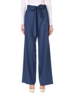 Повседневные брюки ANGEL SCHLESSER. Цвет: грифельно-синий
