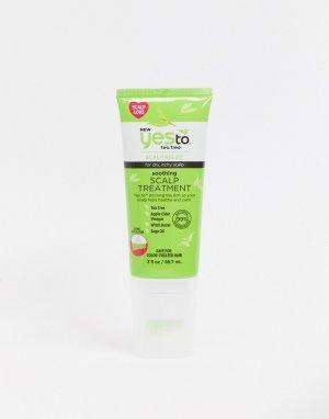 Успокаивающее средство для кожи головы с маслом чайного дерева Yes to-Бесцветный TO