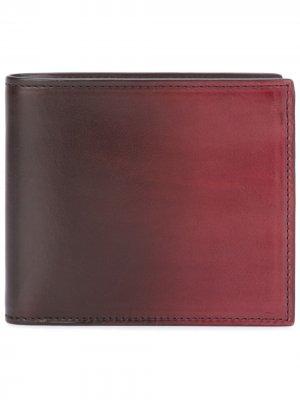 Складной бумажник Boudin Officine Creative. Цвет: красный