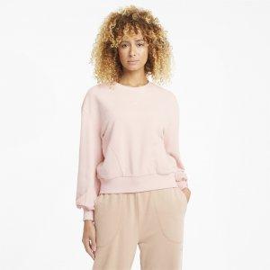 Толстовка HER Crew Neck Womens Sweater PUMA. Цвет: розовый