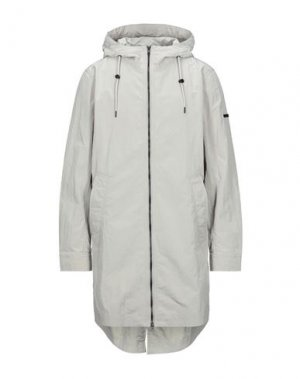 Легкое пальто ELVINE. Цвет: светло-серый
