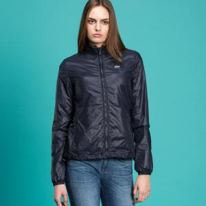 Куртка Ветровка Lacoste. Цвет: синий