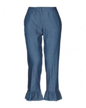 Джинсовые брюки ANNA RACHELE JEANS COLLECTION. Цвет: синий