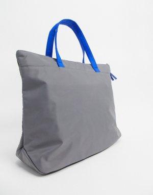 Серая сумка на плечо -Серый House of Holland