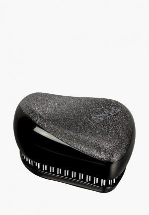 Расческа Tangle Teezer Compact Styler Onyx Sparkle. Цвет: серый