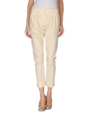 Повседневные брюки BLUE DEEP. Цвет: бежевый