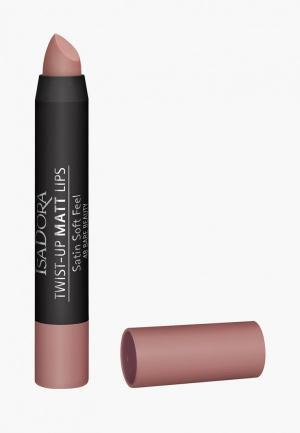 Помада Isadora -карандаш для губ матовая Twist-up Matt Lips 48. Цвет: розовый
