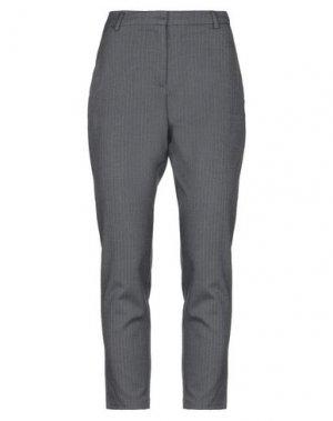 Повседневные брюки FIVEUNITS. Цвет: свинцово-серый